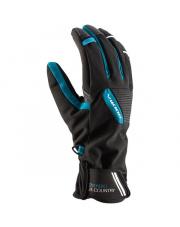 Rękawiczki sportowe Gore-Tex Ontario Viking czarne z niebieskim