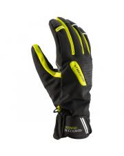 Uniwersalne rękawice z membraną Ontario Viking czarne z żółtym