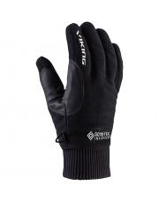 Rękawiczki sportowe do smartfona Solano Viking czarne