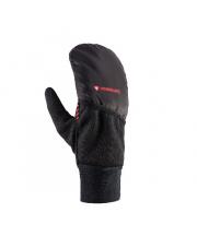 Rękawiczki zimowe do smartfona Gore-Tex Primaloft Atlas Viking czarne z czerwonym