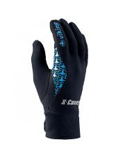 Techniczne rękawiczki sportowe Zonda Viking czarne z niebieskim