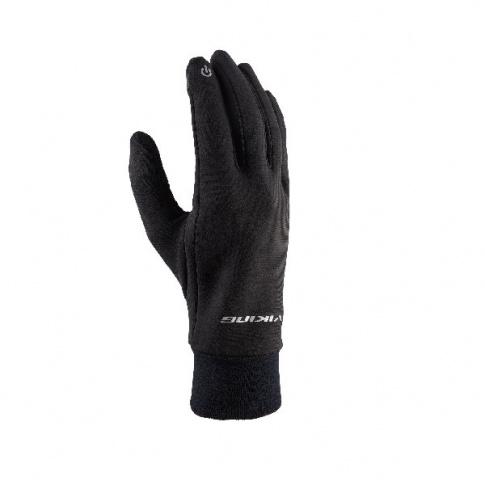 Rękawiczki sportowe do smartfona Tigra Viking czarne