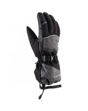 Klasyczne rękawice do freeride Soren Viking szaro czarne