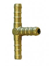 Trójnik mosiężny gazowy Connector w kształcie litery T Brunner