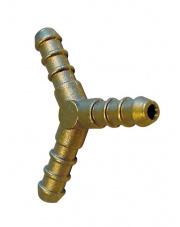 Trójnik mosiężny gazowy Connector w kształcie litery Y Brunner