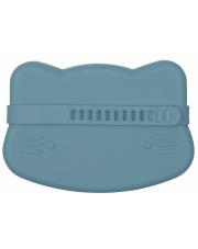 Zamykany silikonowy pojemnik Kotek We Might Be Tiny Blue Dusk