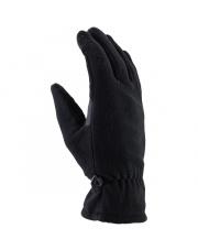 Rękawiczki sportowe polarowe dotykowe Fleece Walkin Viking czarne