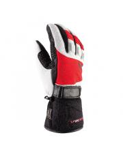 Męskie rękawice na narty Stubai Primaloft Aerogel Viking biało czerwone
