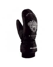 Damskie rękawice jednopalczaste Femme Fatale Mitten Viking czarne