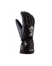 Damskie eleganckie rękawice narciarskie Jasmine Viking czarne