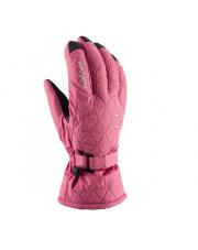 Damskie rękawice zimowe Lady Mirabel Viking różowe