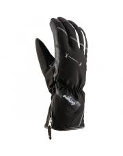 Damskie rękawice narciarskie Rima Viking czarne