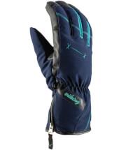Damskie rękawice narciarskie Rima Viking granatowe
