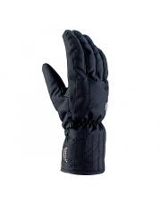 Damskie rękawice narciarskie stylizowane Tosca Viking czarne