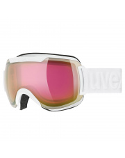 Topowe gogle narciarskie Downhill 2000 FM Uvex biało różowe