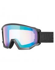 Kanciaste gogle narciarskie Athletic CV Uvex czarne