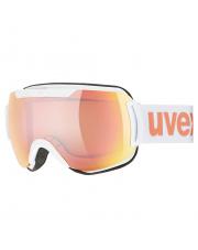 Komfortowe gogle narciarskie Downhill 2000 CV Uvex białe