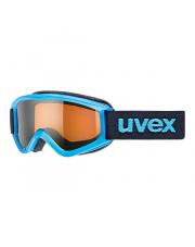 Dziecięce gogle narciarskie Speedy Pro Uvex niebieskie