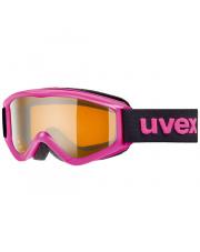 Dziecięce gogle narciarskie Speedy Pro Uvex różowe