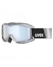 Gogle narciarskie dla dzieci Flizz FM Uvex białe