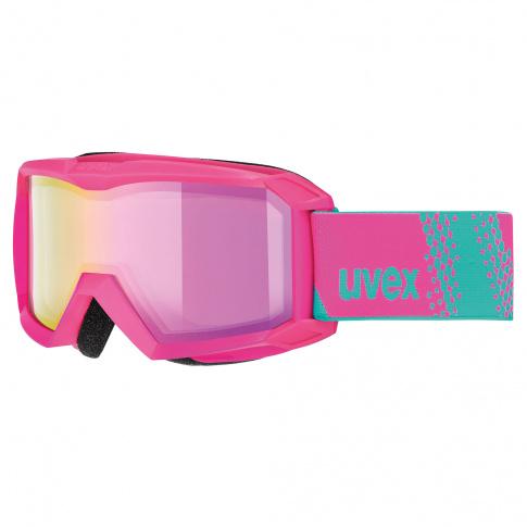Gogle narciarskie dla dzieci Flizz FM Uvex różowe