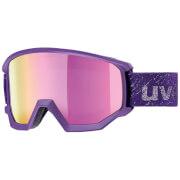 Zaawansowane gogle narciarskie Athletic FM Uvex fioletowe