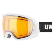 Gogle narciarskie z grupy Race Contest Uvex białe