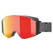Profesjonalne gogle narciarskie G.GL 3000 TO Uvex czerwone