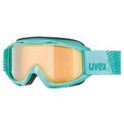 Dziecięce gogle narciarskie Slider FM Uvex miętowe