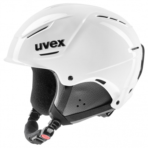 Lekki kask narciarski P1us Rent Uvex biały