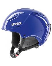 Lekki kask narciarski P1us Rent Uvex niebieski