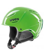 Lekki kask narciarski P1us Rent Uvex zielony