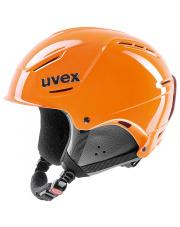 Lekki kask narciarski P1us Rent Uvex pomarańczowy