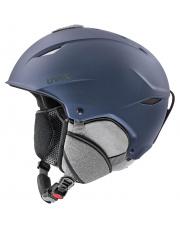 Uniwersalny kask narciarski Primo Uvex granatowy
