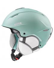 Uniwersalny kask narciarski Primo Uvex miętowy