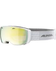 Fotochromowe gogle narciarskie M30 Estetica QVM Alpina białe, szkło Gold