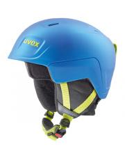 Juniorski kask narciarski Manic Pro Uvex niebieski