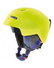 Juniorski kask narciarski Manic Pro Uvex limonkowy