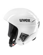 Profesjonalny kask sportowy Race+ Uvex biały