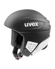 Profesjonalny kask sportowy Race+ Uvex czarny matowy