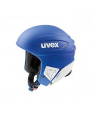 Profesjonalny kask sportowy Race+ Uvex niebieski