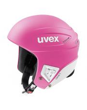 Profesjonalny kask sportowy Race+ Uvex różowy
