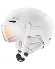 Kask sportowy Inmould z wizjerem Hlmt 700 Visor Uvex biały