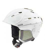 Damski kask narciarski P2us WL Uvex biały