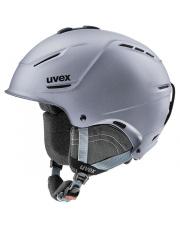 Ultralekki kask narciarski Hard Shell P1us 2.0 Uvex srebrny