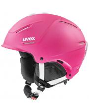 Ultralekki kask narciarski Hard Shell P1us 2.0 Uvex różowy