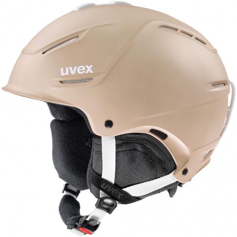 Ultralekki kask narciarski Hard Shell P1us 2.0 Uvex beżowy