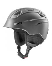 Lekki kask narciarski Fierce Uvex czarny