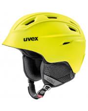 Lekki kask narciarski Fierce Uvex żółty
