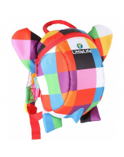 Plecak dla małych dzieci 1-3 lat Słoń Elmer LittleLife